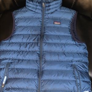 Boys XL Patagonia blue vest